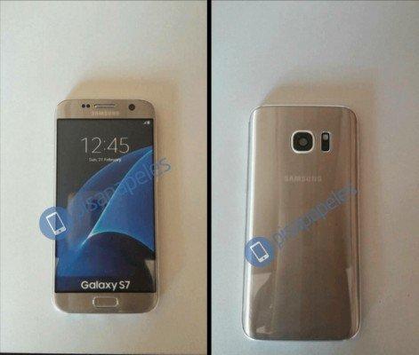 dummy galaxy s7 gold