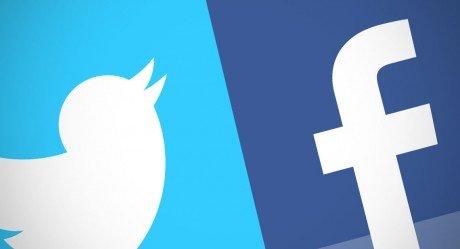 Facebook twitter 1