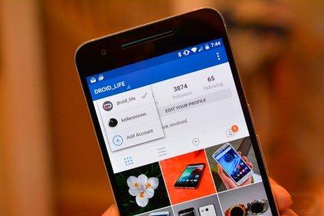 Instagram multiple accounts 1