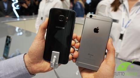 Iphone vs s7 1