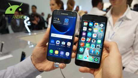 Iphone vs s7