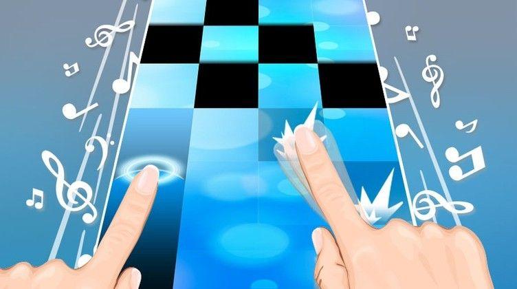 gioco piano tiles da
