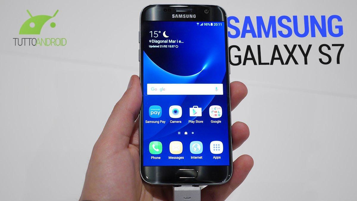 Samsung Galaxy S7, specifiche, foto e prezzo dal MWC
