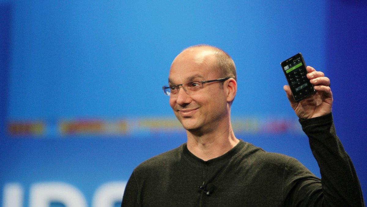 Andy Rubin, cofondatore di Android, sarebbe al lavoro su uno smartphone rivoluzionario