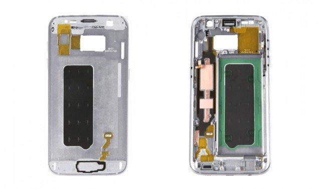 La scocca del Galaxy S7