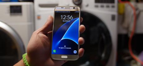 Galaxy S7 Lavatrice Test