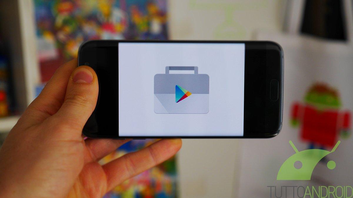 Google rivede il carosello con le app in evidenza del Play Store