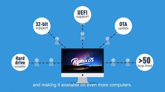 Remix OS beta si aggiorna: arrivano il dual-boot e il supporto 32-bit