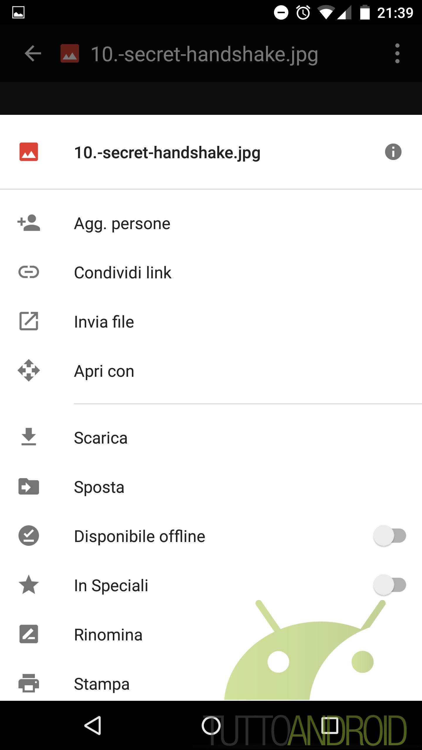 Google Drive Si Aggiorna Introducendo La Modifica Rapida