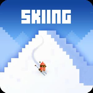 SkiingYetiMountain