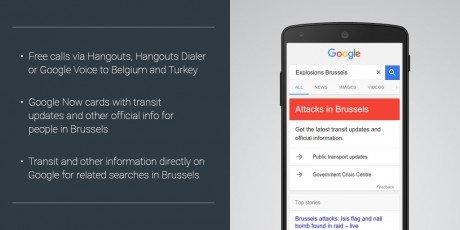 Google Bruxelles