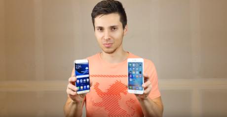 Drop test s7 edge iphone 6s plus