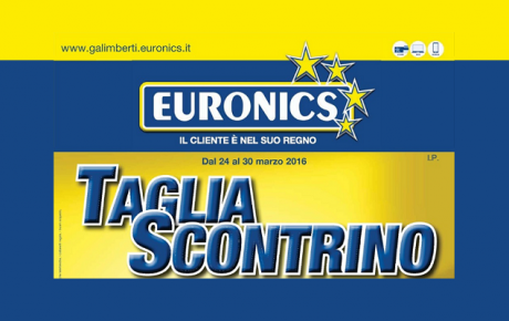 Euronics taglia scontrino