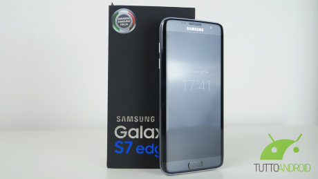 Galaxy s7 edge unbox