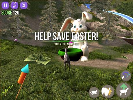 Goat simulator easter pasqua 2
