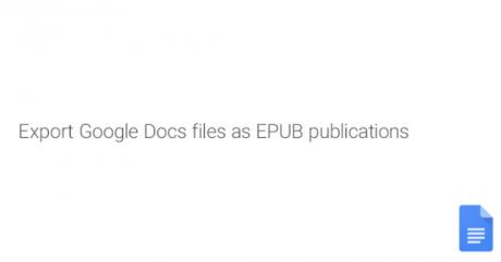 Google documenti epub