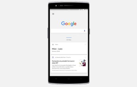 Google now copertina opo