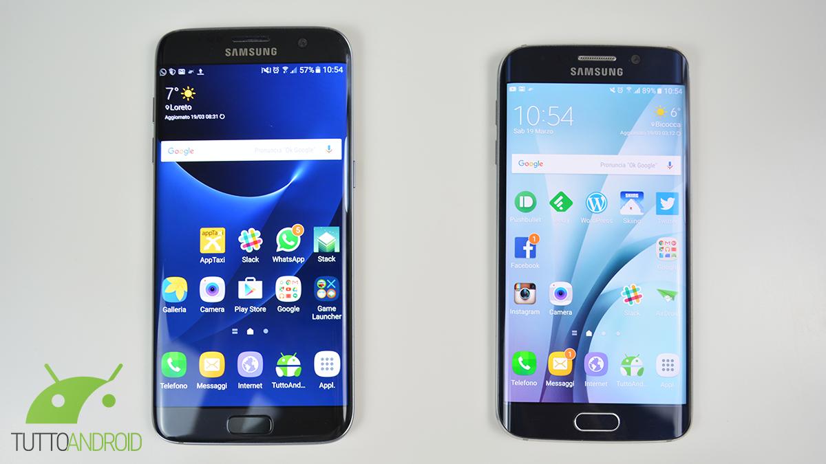 Confronto Tra Samsung Galaxy S7 Edge E Galaxy S6 Edge