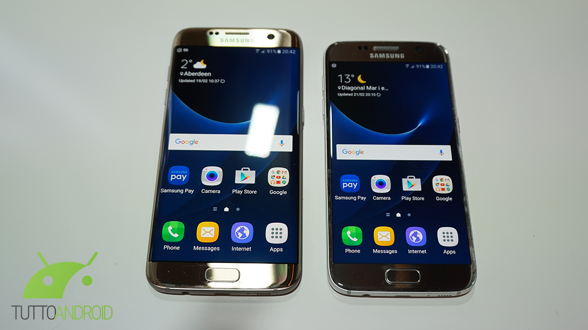Samsung Galaxy S7 E S7 Edge Disponibili In Italia Gi 224 A