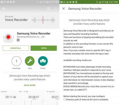Samsung voice recorder2