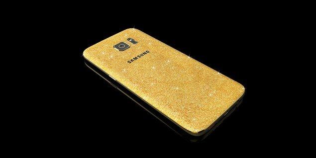 Samsung Galaxy S7 dorato