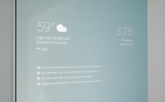 Da oggi potrete creare il vostro specchio intelligente con Android