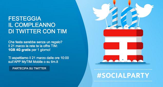 tim gratis twitter