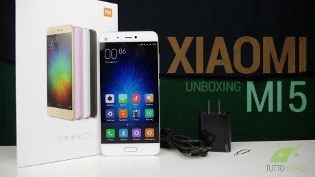 Xiaomi mi 5 unboxing copertina