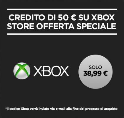 Xbox credito scontato offerta