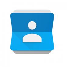 google contatti logo