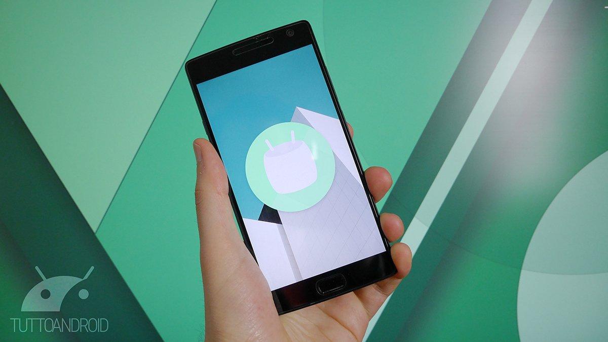 Video prova di Android 6.0.1 Marshmallow su OnePlus 2