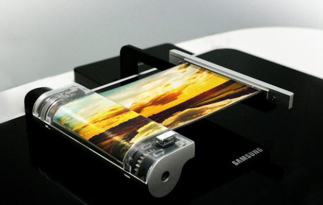 Samsung Pieghevole Display