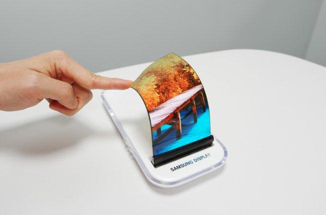 Questo dovrebbe essere il display pieghevole del Samsung Galaxy X