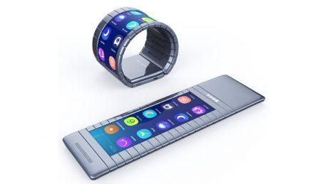 Flexible Moxi Smartphone
