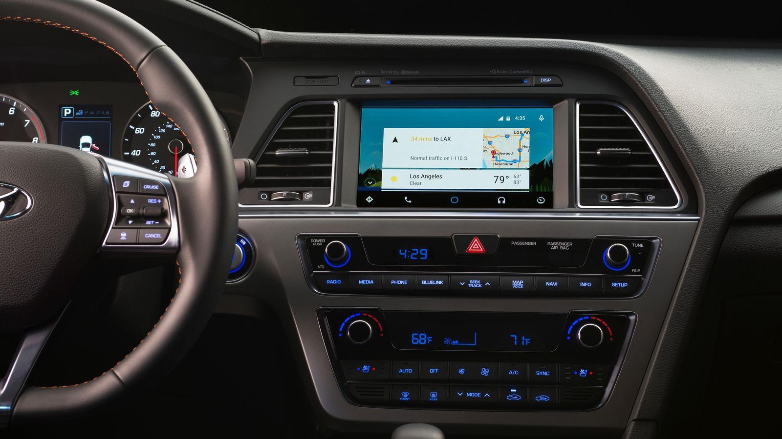 hyundai aggiunge il supporto ad android auto a tre modelli. Black Bedroom Furniture Sets. Home Design Ideas