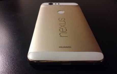 Nexus 6P bianco e oro 1