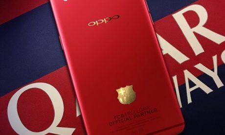 Oppo R9 FC Barcelona edition leak 1 e1464078655351