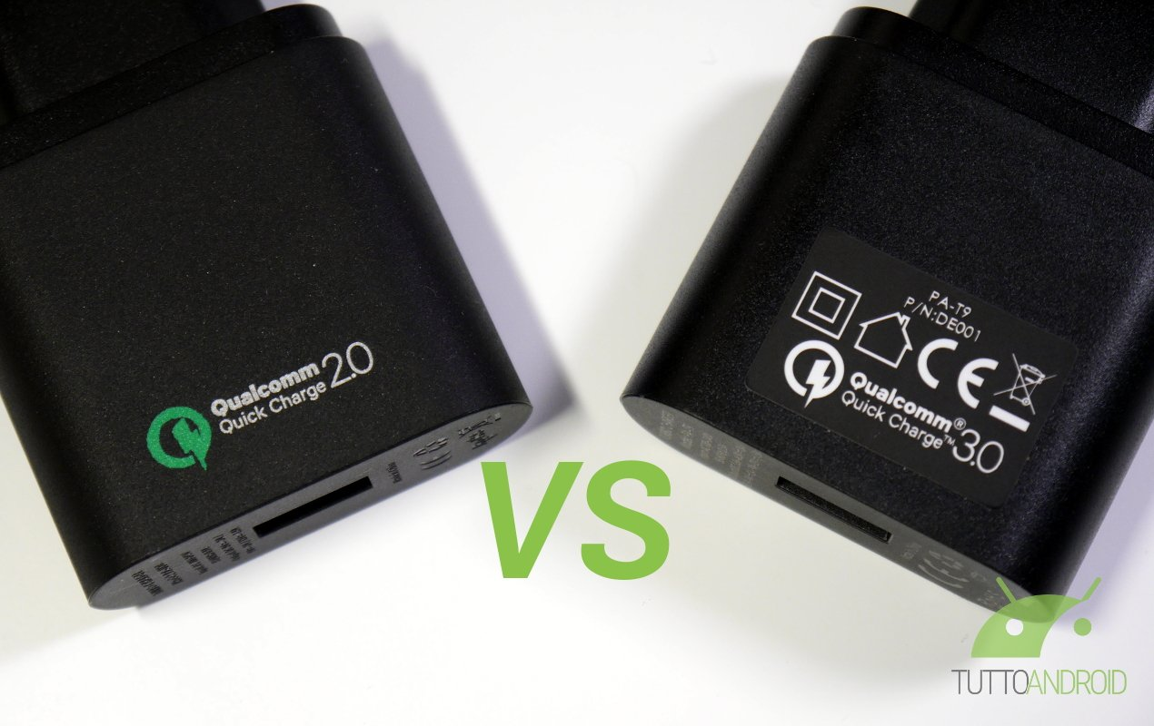 Qualcomm Quick Charge 2 0 Vs Quick Charge 3 0 Ricarica