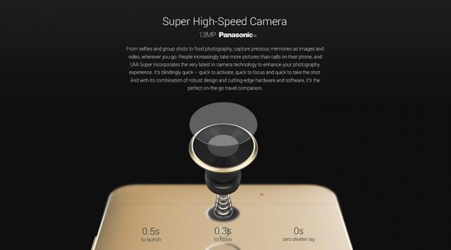 UMi Super fotocamera