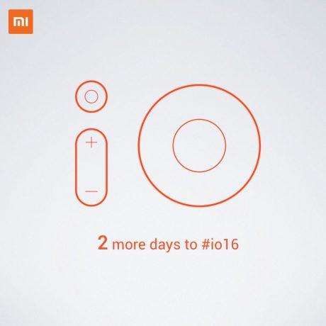Xiaomi Google IO teaser