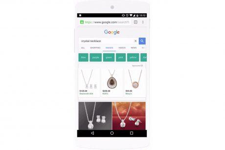 Google image search ad