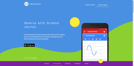 Makingscience.withgoogle.com science journal