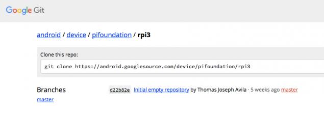 nexus2cee_device_pifoundation_rpi3_-_Git_at_Google