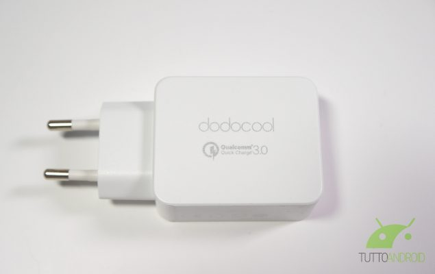 Caricabatterie Quick Charge 3.0 Dodocool