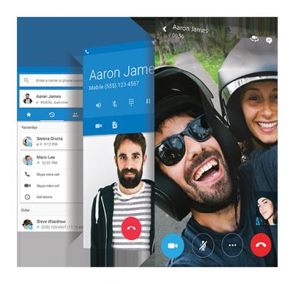 Cyanogen OS 13.1 MOD Skype
