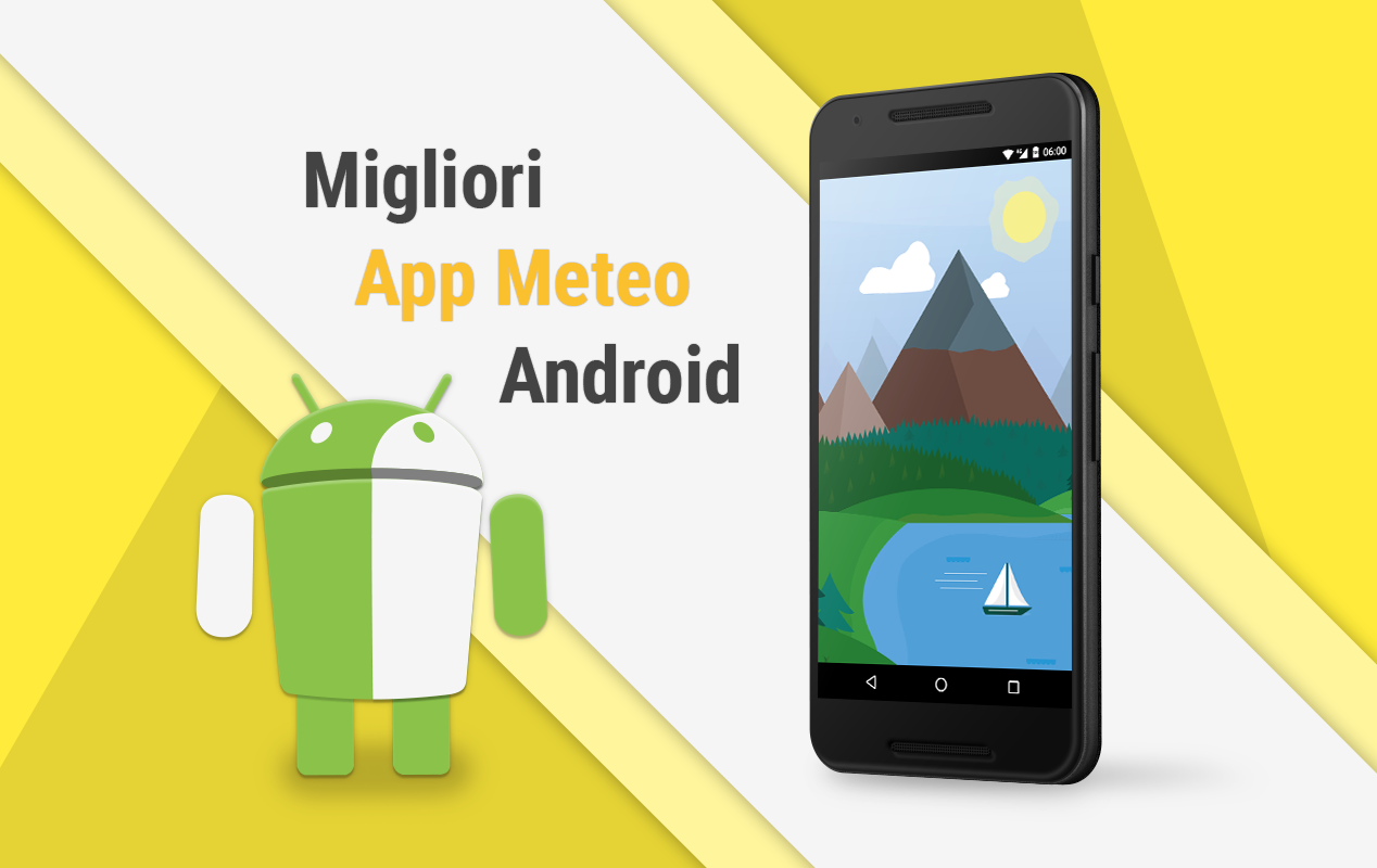 le migliori app meteo per android la nostra selezione video tuttoandroid. Black Bedroom Furniture Sets. Home Design Ideas
