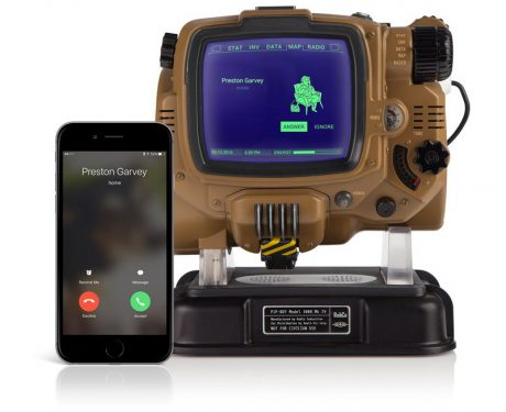 Pip Boy paired with iPhone