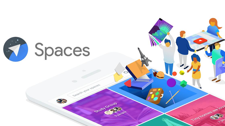 Google Spaces 1.7 permette di salvare le foto condivise dagli amici