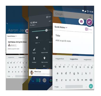 cyanogen OS 13.1 MOD OneNote