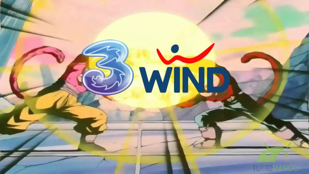 Risultati immagini per wind e 3 si uniranno